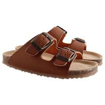 Enfant sandalen bruin leer