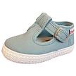 canvas schoentjes lichtblauw