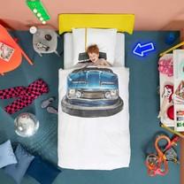 Snurk kinderdekbed botsauto