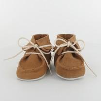 Les Petits Fils du Cordonnier babyschoentjes camel franje