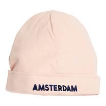 Broer & Zus baby muts Amsterdam pink
