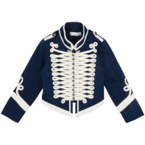 Stella McCartney kids Will Military jacket navy
