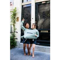 Broer & Zus Dames sweater Amsterdam cactus