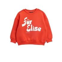 Mini Rodini Für Elise sp sweatshirt red