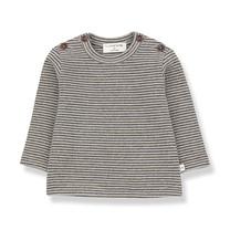 1+ in the Family JASPER t-shirt beige/blue notte