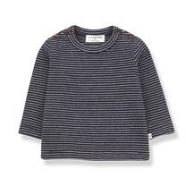 1+ in the Family JASPER t-shirt blue notte/beige