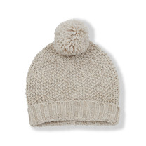 1+ in the Family SANTIS baby beanie beige