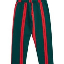 Mini Rodini Sweat pants Stripe groen