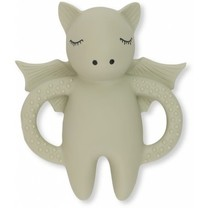 Konges Slojd Tooth Soother Bat Grey