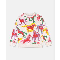 Stella McCartney kids PAINTED HORSES SWEAT