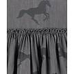 BLEACHED HORSES CHAMBRAY SKIRT