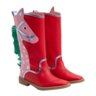 HIGH BOOTS W/HORSE
