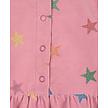 GLITTER STARS CORDUROY DRESS