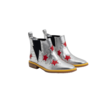 BOOTIES W/INSERTED RED STARS