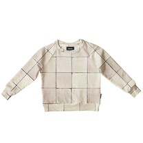 Snurk Tiles Pearl White Sweater Kids