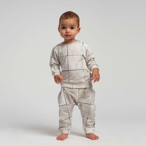 Snurk Tiles Pearl White Pants Babies