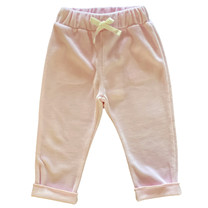 Broer & Zus Sweat pants velvet pink