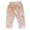 Sweat pants velvet pink