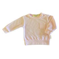 Broer & Zus Sweater baby velvet pink