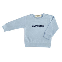 Broer & Zus Sweater Amsterdam light blue