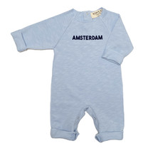 Broer & Zus Babysuit Amsterdam light blue