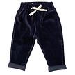 Pants baby velvet navy