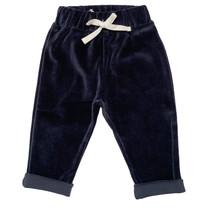 Broer & Zus Pants baby velvet navy