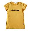 T-shirt Amsterdam mustard