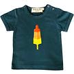 Baby t-shirt raketijsje