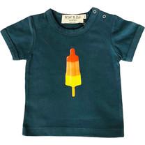 Broer & Zus Baby t-shirt raketijsje