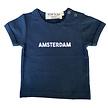 Baby t-shirt Amsterdam navy