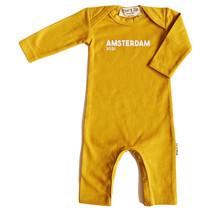 Broer & Zus Baby boxpak Amsterdam 2021 mustard