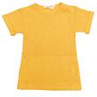 Sweatjurk mustard korte mouw