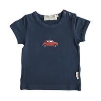 Broer & Zus Baby t-shirt navy Fiat500