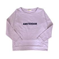 Broer & Zus Dames sweater Amsterdam lila