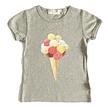 T-shirt meisje bolletjes ijs