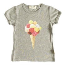 Broer & Zus T-shirt meisje bolletjes ijs