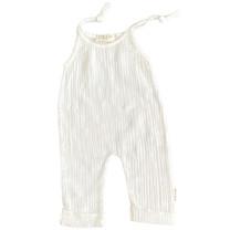 Broer & Zus Baby jumpsuit off white