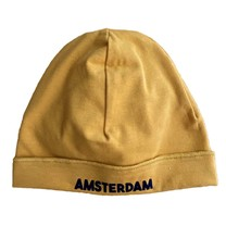 Broer & Zus Baby muts Amsterdam mustard