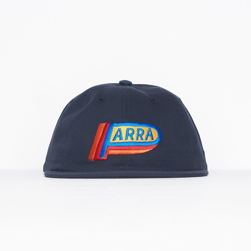 BY PARRA GARAGE OIL NAVY BLUE CAP