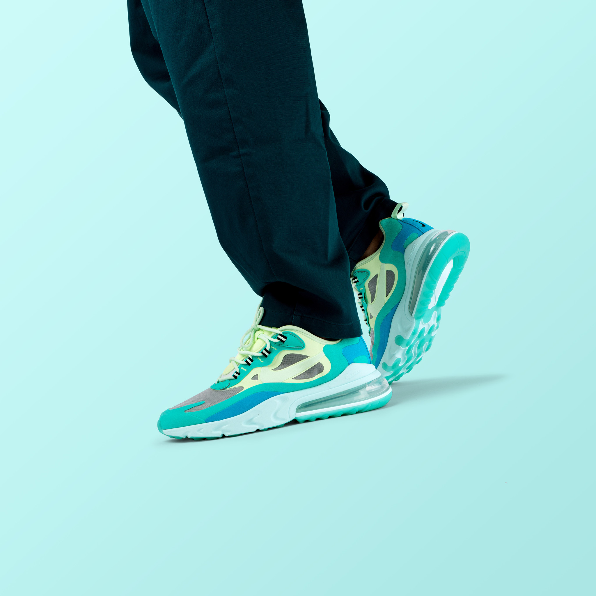 NIKE AIR MAX 270 REACT 'HYPER JADE'