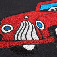 TOY CAR HOODED SWEATER