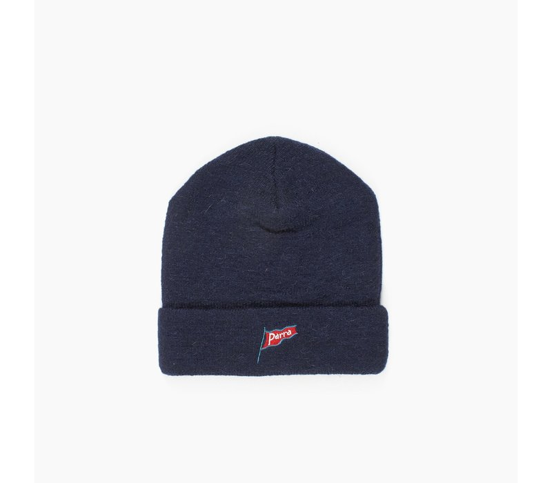 FLAPPING FLAG NAVY BEANIE
