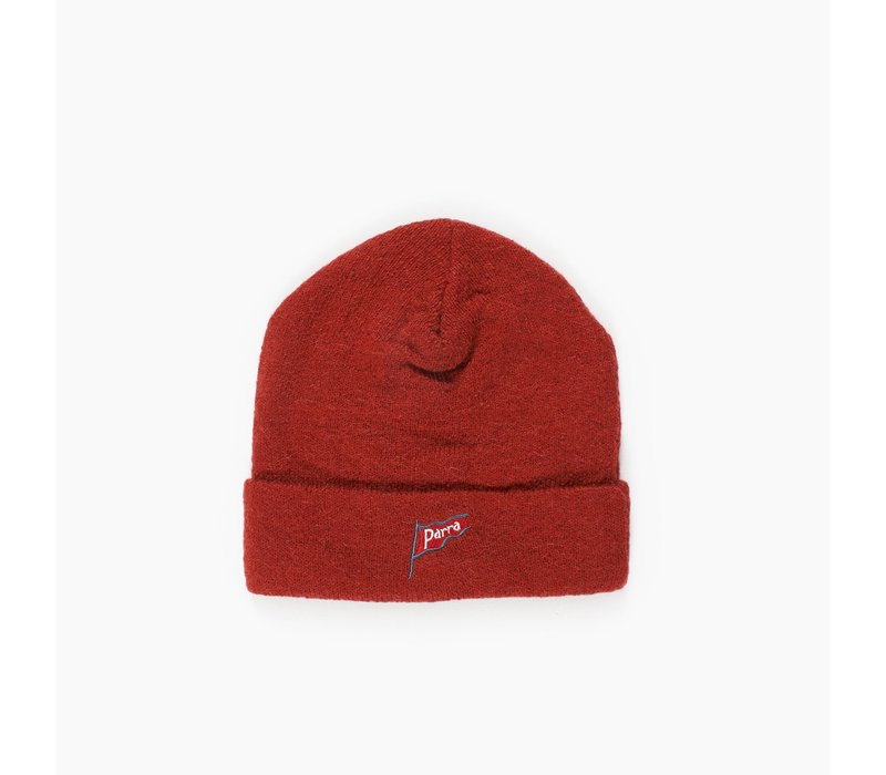 FLAPPING FLAG BURNT ORANGE BEANIE