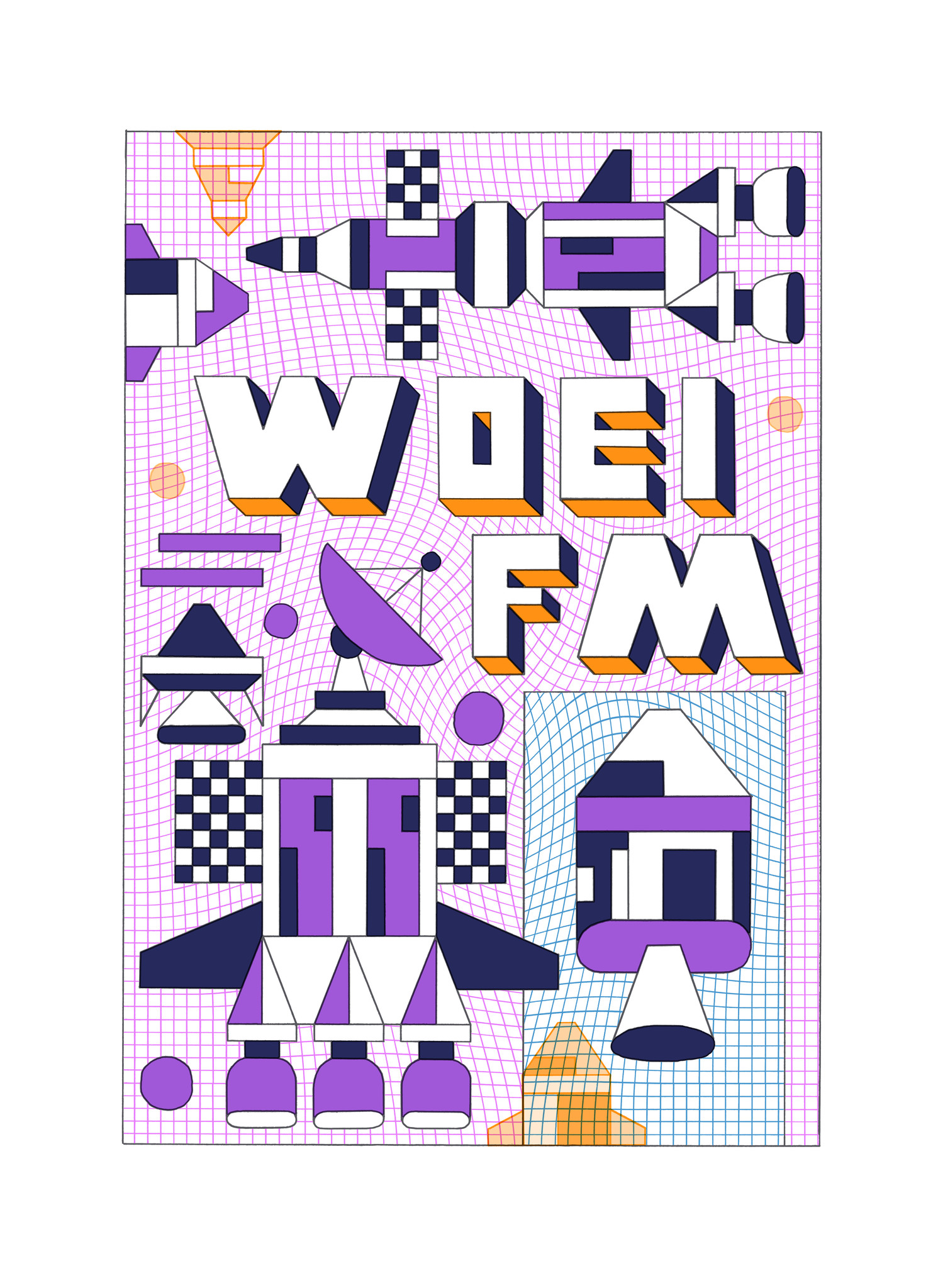WOEI FM.
