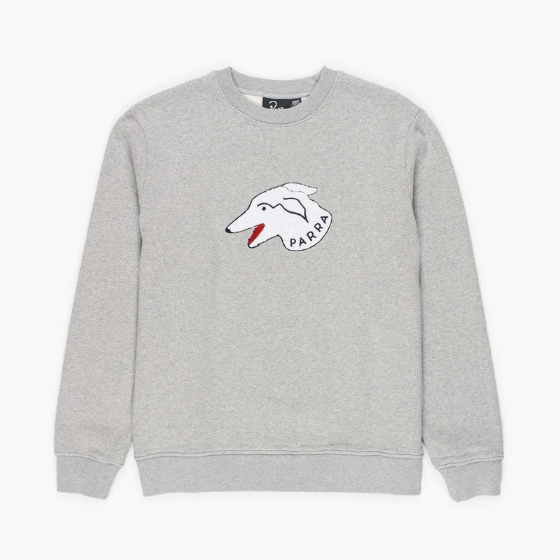 BY PARRA DOGFACE CREW NECK SWEATER