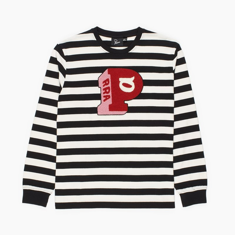 BY PARRA BLOCK P STRIPED LONG SLEEVE