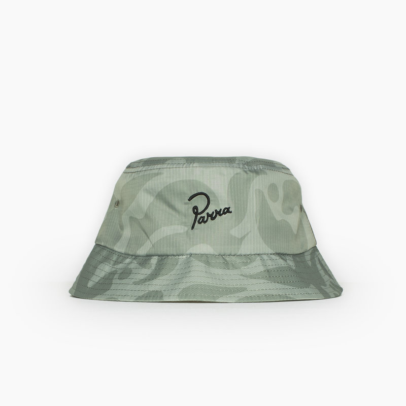 BY PARRA BIRD CAMO BUCKET HAT