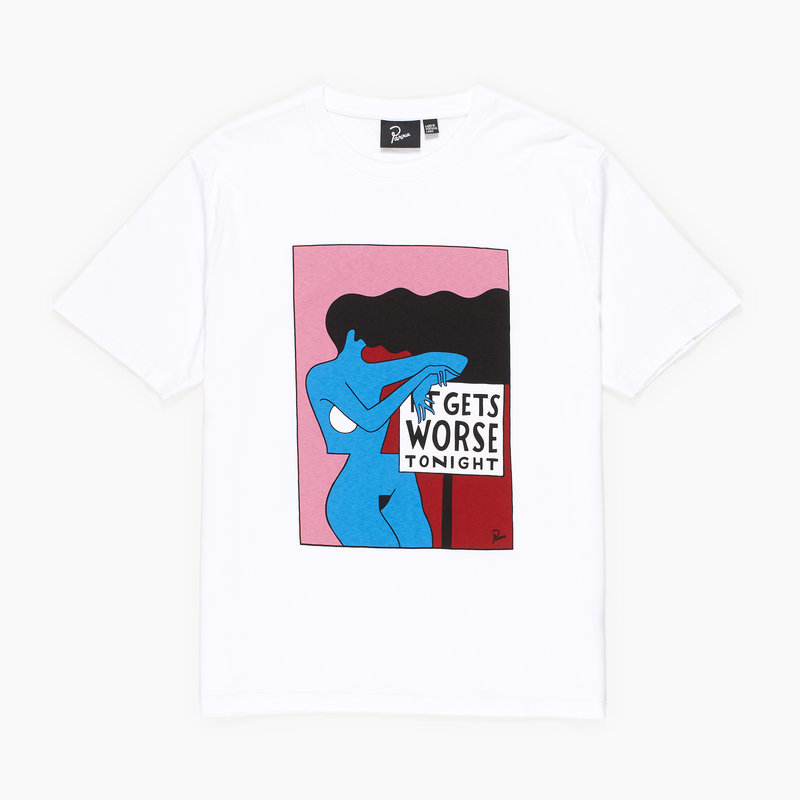 BY PARRA IT GET WORSE T-SHIRT