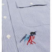 MADAME BEACH STRIPED SHIRT